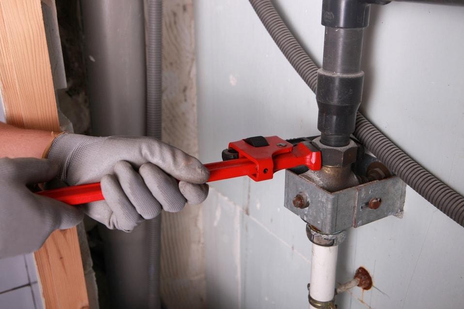 taking apart sink