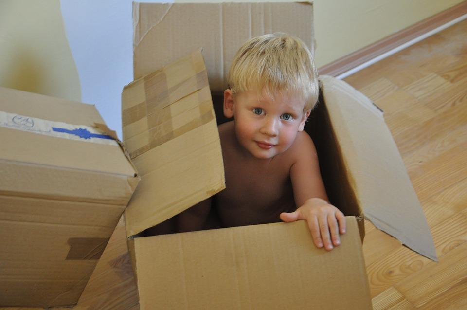 Preparing their Essentials Boxes
