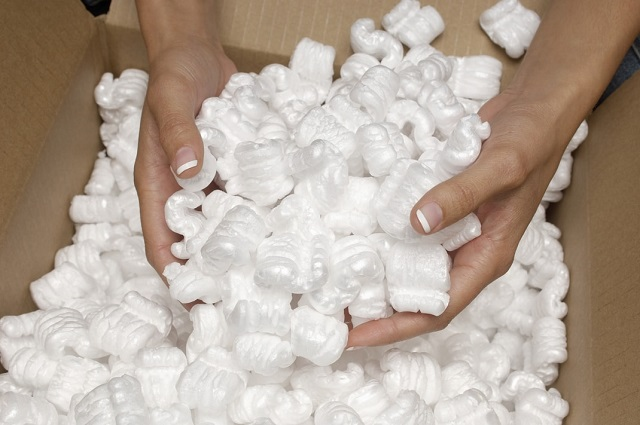 Foam Peanuts for Fragile Stuff